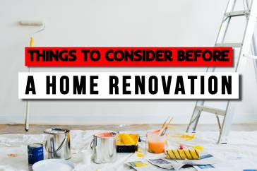 Things to Consider Before Planning Home Renovation